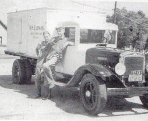 Ludwig Milk Truck